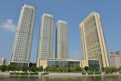 Paesaggio Tientsin della città fotografie stock