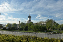 Paesaggio Tientsin della città fotografia stock libera da diritti