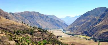 Paesaggio tipico della montagna Immagine Stock