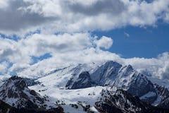 Paesaggio tipico della montagna nelle dolomia trav in Italia, Europa Fotografia Stock Libera da Diritti