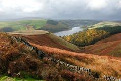 Paesaggio tipico di inglese Fotografie Stock