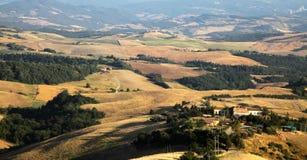 Paesaggio in Toscana Fotografie Stock Libere da Diritti