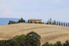 Paesaggio in Toscana Fotografia Stock Libera da Diritti