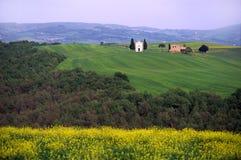 Paesaggio in Toscana Italia Fotografia Stock Libera da Diritti