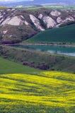 Paesaggio, Toscana Val D'Orcia Fotografie Stock