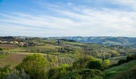 Paesaggio, Toscana Val D'Orcia Immagine Stock
