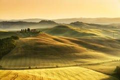 Paesaggio toscano Fotografia Stock Libera da Diritti
