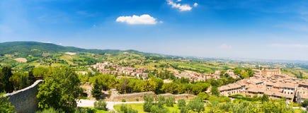 Paesaggio tradizionale della Toscana Italia Immagini Stock Libere da Diritti