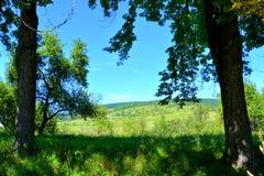 Paesaggio in Transylvania Fotografia Stock Libera da Diritti