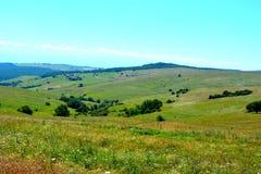 Paesaggio in Transylvania Fotografie Stock Libere da Diritti