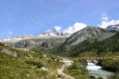 Paesaggio in Trentino Italia Fotografie Stock