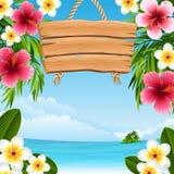 Paesaggio tropicale Immagini Stock