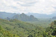 Paesaggio tropicale Immagine Stock Libera da Diritti