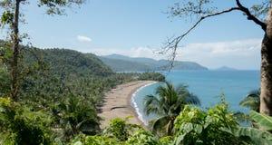 Paesaggio tropicale dell'isola fotografia stock libera da diritti