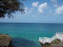 Paesaggio tropicale della baia Fotografia Stock