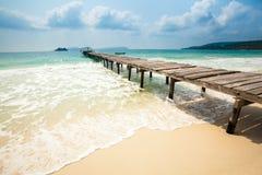 Paesaggio tropicale di Koh Rong Fotografia Stock