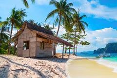 Paesaggio tropicale scenico, Palawan, Filippine Fotografia Stock