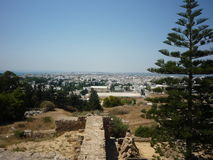 Paesaggio tunisino fotografia stock libera da diritti