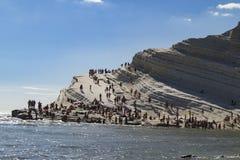 Paesaggio, turchi di dei di scala Fotografie Stock