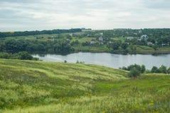 Paesaggio ucraino del paese Immagine Stock Libera da Diritti