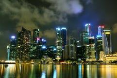 Paesaggio urbano 1 di Singapore fotografia stock libera da diritti