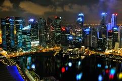Paesaggio urbano 2 di Singapore fotografia stock libera da diritti