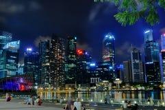 Paesaggio urbano 3 di Singapore Fotografia Stock