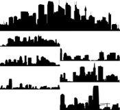 Paesaggio urbano Fotografia Stock