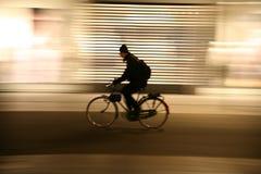 Paesaggio urbano alla notte Fotografia Stock Libera da Diritti
