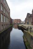 Paesaggio urbano a Amsterdam Immagine Stock