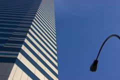 Paesaggio urbano astratto fotografia stock libera da diritti