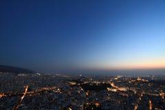Paesaggio urbano Atene Grecia Fotografia Stock