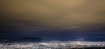 Paesaggio urbano a Bandung fotografie stock