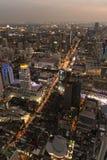 Paesaggio urbano Bangkok Fotografia Stock Libera da Diritti