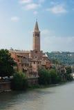 Paesaggio urbano concentrare storico di Verona Fotografia Stock Libera da Diritti
