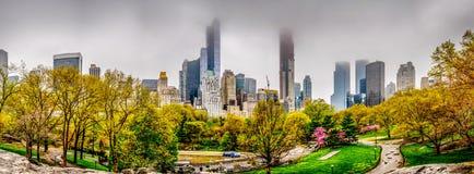 Paesaggio urbano del Central Park Fotografia Stock