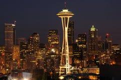 Paesaggio urbano del centro di Seattle Fotografia Stock