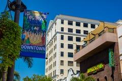 Paesaggio urbano del centro di West Palm Beach fotografie stock libere da diritti