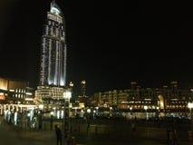 Paesaggio urbano del centro del Dubai fotografia stock libera da diritti