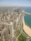 Paesaggio urbano del Chicago Fotografia Stock Libera da Diritti