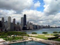 Paesaggio urbano del Chicago, vista da N Fotografie Stock