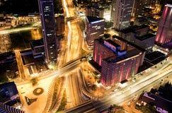 Paesaggio urbano del ¡ di Bogotà fotografie stock