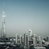 Paesaggio urbano del Dubai Immagini Stock Libere da Diritti