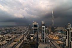 Paesaggio urbano del Dubai Fotografia Stock Libera da Diritti
