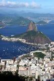 Paesaggio urbano del Rio de Janeiro Fotografia Stock Libera da Diritti