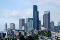 Paesaggio urbano del sud di Seattle Immagini Stock Libere da Diritti
