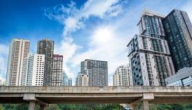Paesaggio urbano della Tailandia Fotografia Stock