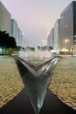 Paesaggio urbano della via fotografia stock