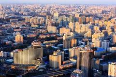 paesaggio urbano delle costruzioni Immagini Stock