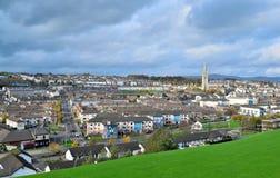 Paesaggio urbano in Derry, Irlanda del Nord Fotografie Stock Libere da Diritti